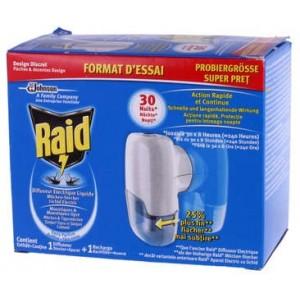 Aparat tintari pastile+rezerva Raid - Parfum Divers