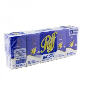 Batiste hartie Puff 3 straturi - pachet 10 bucati