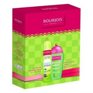 Set cadou Bourjois: Deodorant Extreme Protection, 200 ml + Gel de dus Desaltere-Moi, 250 ml