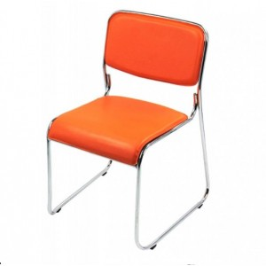 Scaun de conferinta HRC604, portocaliu