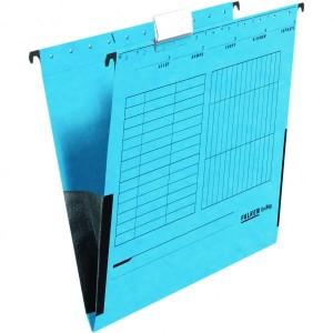 Dosar plic Falken, 230 g/mp, carton, albastru