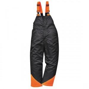 Pantaloni cu pieptar pentru forestieri, Oak