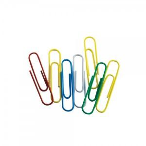 Agrafe pentru birou 25 mm colorate 100 bucati/cutie