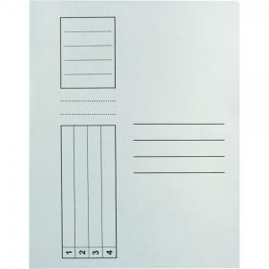 Dosar Standard, alb, cu sina rezistenta, A4, carton