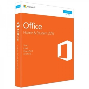 Microsoft Office Home and Student 2016 Engleza, 1 User, Medialess