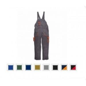 Pantalon cu Pieptar Portwest TEXO Contrast - tercot 245gr