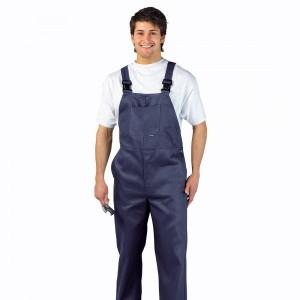 Pantalon cu Pieptar C881 - bumbac 305g
