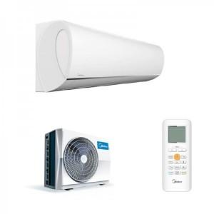 Aer conditionat Midea Blanc Full DC MSMAAU-09HRFN1-QRD0GW, Inverter, 9000 Btu/h , Clasa A++ /A+ (Alb)