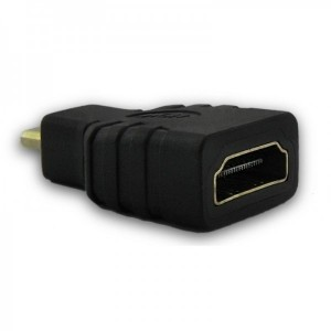 Qoltec 1x HDMI Female - 1x microHDMI Male