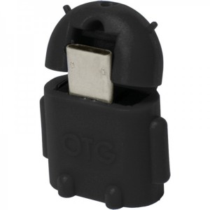 Logilink 1x USB 2.0 Female - 1x microUSB 2.0 Male, negru
