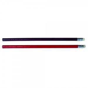 Creion HB cu guma varf neascutit