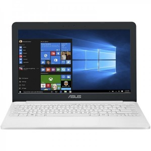 ASUS 11.6'' VivoBook E12 E203NA HD Procesor Intel Celeron N3350 (2M Cache up to 2.4 GHz) 4GB 32GB eMMC GMA HD 500 Win 10 Home Pearl White Office 365 Personal 1an
