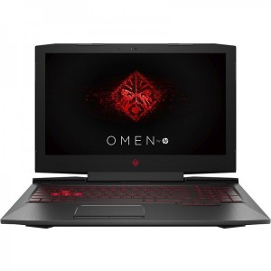 HP Gaming 15.6'' OMEN 15-ce003nq FHD IPS Procesor Intel Core i7-7700HQ (6M Cache up to 3.80 GHz) 8GB DDR4 1TB 7200 RPM + 128GB SSD GeForce GTX 1050 Ti 4GB Win 10 Home Shadow Black versiunea 2017