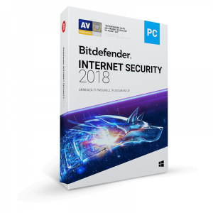 Bitdefender Internet Security 2018 1 PC 2 ani New License Retail Box