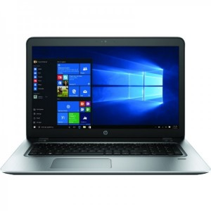 HP 17.3'' ProBook 470 G4 HD+ Procesor Intel Core i7-7500U (4M Cache up to 3.50 GHz) 8GB DDR4 1TB GMA HD 620 Win 10 Pro Silver