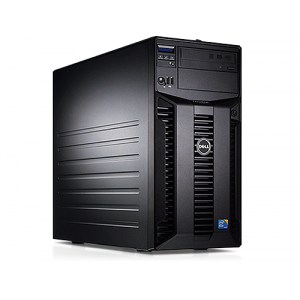 Server Dell PowerEdge T310 Tower Intel Core i3-530 2.93GHz 8GB DDR3-ECC Hard Disk 1TB SATA Raid Perc H200 Idrac 6 Enterprise 2 PSU Hot Swap