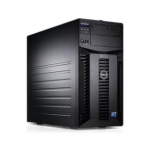 Server Dell PowerEdge T310 Tower Intel Core i3-530 2.93GHz 4GB DDR3-ECC Hard Disk 250GB SATA Raid Perc H200 Idrac 6 Enterprise 2 PSU Hot Swap