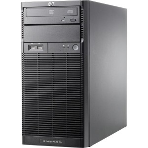 Server HP ProLiant ML110 G6 Tower Intel Xeon Quad Core X3430 2.40GHz 8GB DDR3 2 x 2TB SATA DVD-ROM PSU 300W