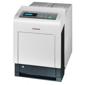 Imprimanta Laser Color Kyocera FS-C5350DN Duplex Retea 24 ppm USB 2.0 USB Host