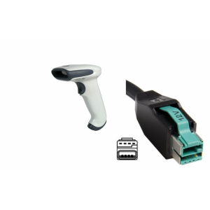 Cititor cod de bare Honeywell Hand Held 3800G Adaptus 3800G05E 12v USB Host Powered Cable