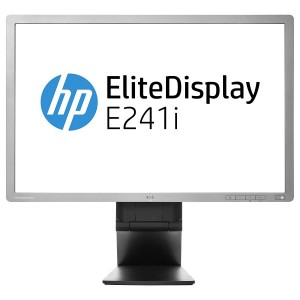 Monitor Refurbished HP EliteDisplay E241i 24 inch IPS LED VGA DVI USB Full HD