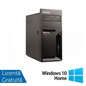 Calculatoare Refurbished Lenovo Thinkcentre M58p Tower Intel Core 2 Duo E8400 3.00Ghz 2GB DDR3 160GB HDD DVD-ROM + Windows 10 Home