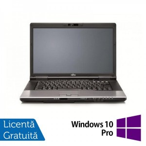 Laptop Refurbished FUJITSU SIEMENS E752 Intel Core i3-3110M 2.40GHz 4GB DDR3 320GB SATA DVD-RW 15.4 inch + Windows 10 Pro