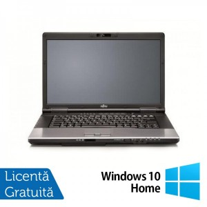Laptop Refurbished FUJITSU SIEMENS E752 Intel Core i3-3110M 2.40GHz 4GB DDR3 320GB SATA DVD-RW 15.4 inch + Windows 10 Home