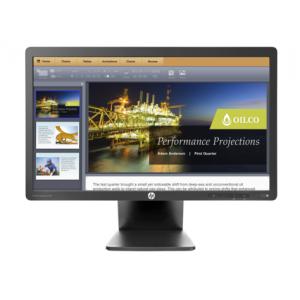 Monitor LED HP E201 20 inch 5 ms VGA DVI Fara picior