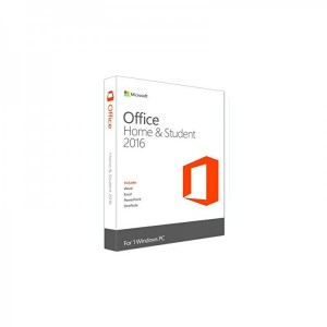 Aplicatie Microsoft Office Home and Student 2016, 1 PC, Romana, Medialess