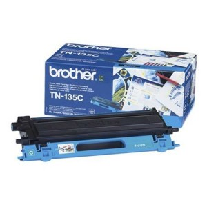 Consumabil Original TN-135C: Brother TN-135 Toner Ctg Cyan 4k