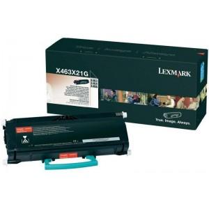 Consumabil Original X463X31G: Lexmark X-463 Toner Ctg Black 15k Corporate