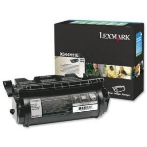 Consumabil Original X644H11E: Lexmark X644E Toner Ctg Black RP 21k