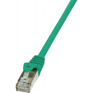 Patch cable CAT5e 1.0m green SF / UTP - CP1035D