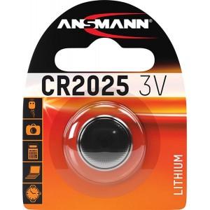 Batterie CR2025 ANSMANN Knopfzelle - 5020142