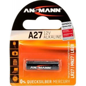 Batterie A27 ANSMANN 12V Alkaline - 1516-0001