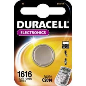 Batterie CR1616 DURACELL Knopfzelle - 030336