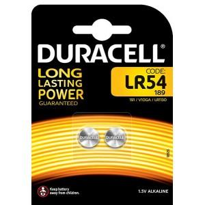 Batterie LR54 DURACELL Knopfzelle2er - 052550