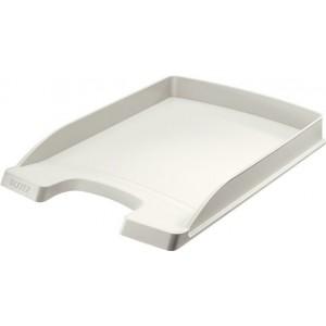 LEITZ Letter Basket Plus flat gray - 5237-00-85
