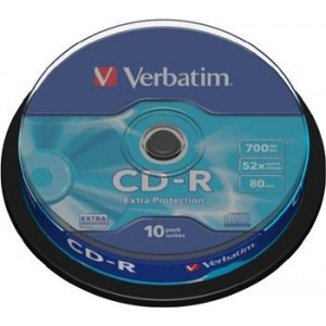 VERBATIM CD-R 52x 10er-SP - 43437