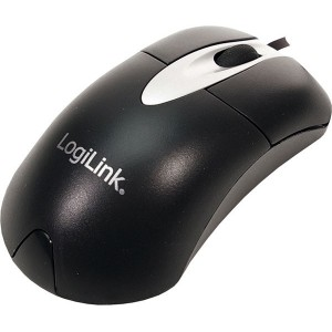 LogiLink mouse optical USB black - ID0011