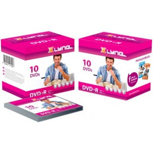 XLYNE DVD + R 16x 4.7GB 10-JC - 3J10000