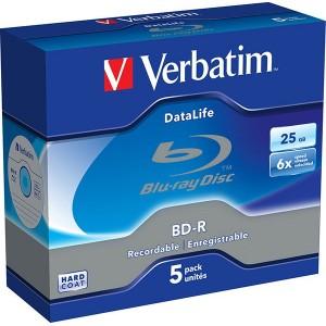 VERBATIM BD-R 6x 5-JC - 43836