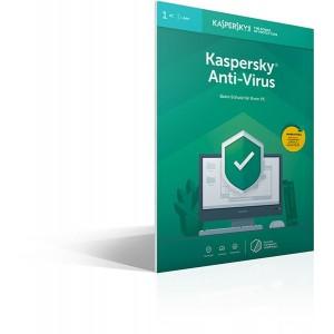 KASPERSKY ANTI-VIRUS 1D 1Y FFP - KL1171G5AFS-9FFP