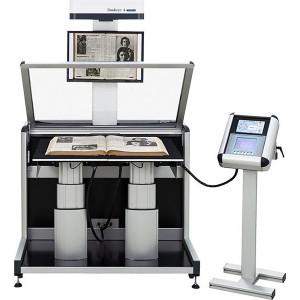 BOOKEYE 4 SW A1 + Scanner 35cm-Buchw. - BE4-SGS-V1A-C35