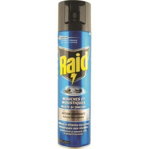 Spray muste si tantari Raid, 400 ml